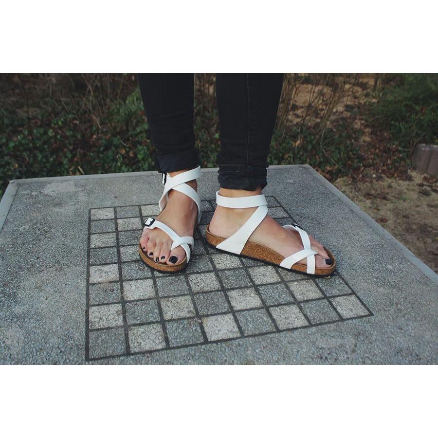 Hình ảnh Sandal unisex thời trang HuuCuong - xỏ ngón cổ cao đế trấu-5