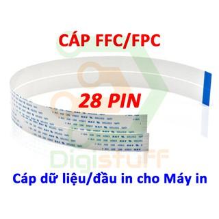 Cáp đầu in cho máy in 28 pin AWM 20624 AWM 20706 thay cáp Xinya CviLux HAMBURG-SH-HF High-Tek JI-HAW