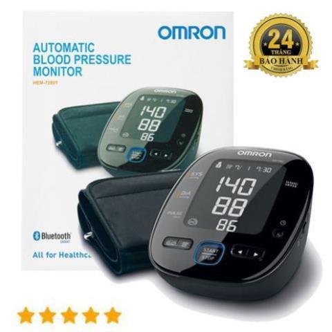 [JAPAN] Máy đo huyết áp bắp tay OMRON HEM 7280T Kết Nối Bluetooth(Bảo hành 5 năm)