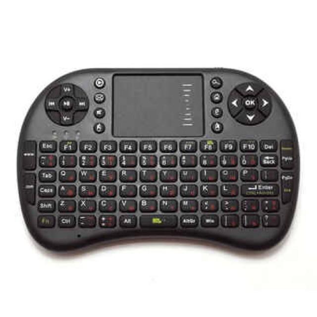 [HOT] Bàn phím kiêm chuột không dây cho tivi máy tính bảng Giá chỉ 204.000₫