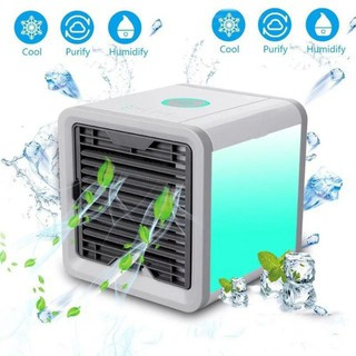 Điều hòa mini – quạt điều hòa hơi nước để bàn – máy lạnh mini