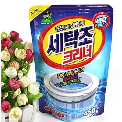 Bột tẩy vệ sinh lồng máy giặt Sandokkaebi - Hàn Quốc - 2694845 , 202125165 , 322_202125165 , 40000 , Bot-tay-ve-sinh-long-may-giat-Sandokkaebi-Han-Quoc-322_202125165 , shopee.vn , Bột tẩy vệ sinh lồng máy giặt Sandokkaebi - Hàn Quốc