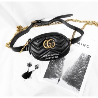 Túi xách mini hothit đeo bụng và đeo chéo mã GG01