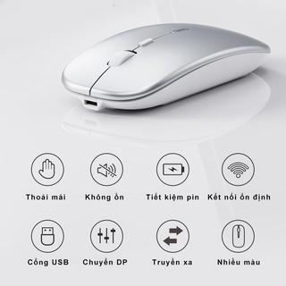 Hình ảnh Chuột không dây Bluetooth tự sạc pin SIDOTECH M1P không tiếng click sạc 1 lần dùng 1 tuần cho Laptop macbook PC Tivi-1