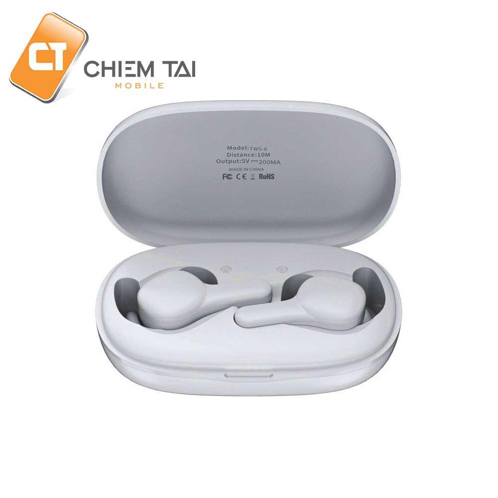 [Mã 267ELSALE hoàn 7% đơn 300K] Tai nghe Bluetooth True Wireless Remax TWS-6
