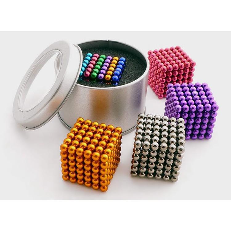[Loại Tốt] Nam Châm Bi - Đồ chơi nam châm xếp hình Buckyball Neocube chính hãng giá rẻ HCM [Xả...