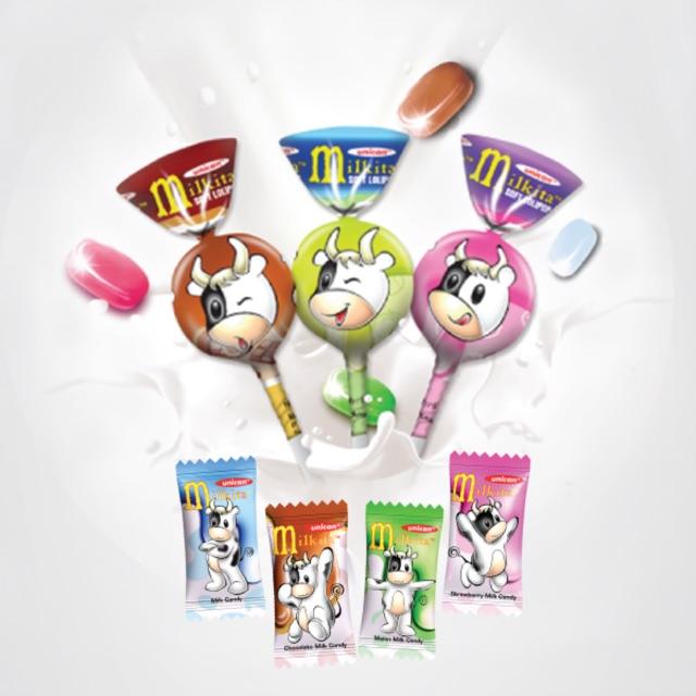 kẹo mikita được làm từ sữa