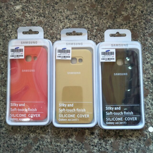 Ốp dẻo cover cho Samsung A520/2017