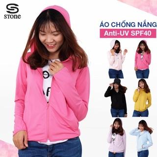Áo khoác nữ chống nắng và tia UV SPF40 có túi trong STONE mềm nhẹ KN01 (Nhiều Màu)