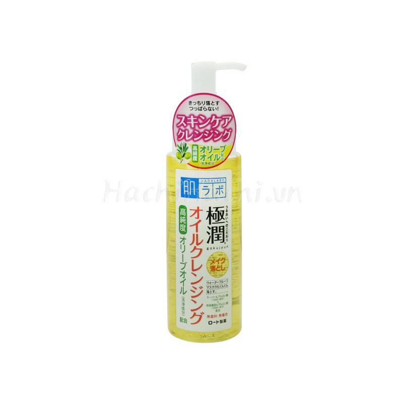 Dầu tẩy trang dưỡng ẩm Hadalabo 200ml