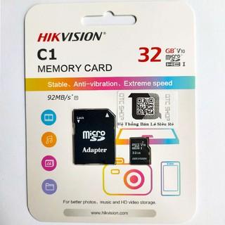 Thẻ Nhớ HIKVISION 32GB 92MB/S - Hàng Chính Hãng