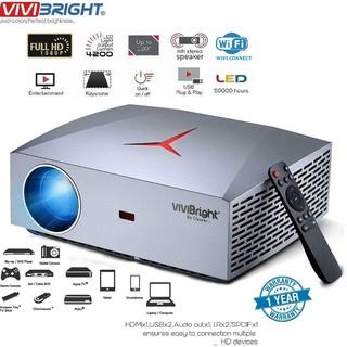 Máy chiếu Gia Đình FULL HD Cao Cấp Vivibright F40 Độ phân giải thật 1080P-Phiên bản wifi