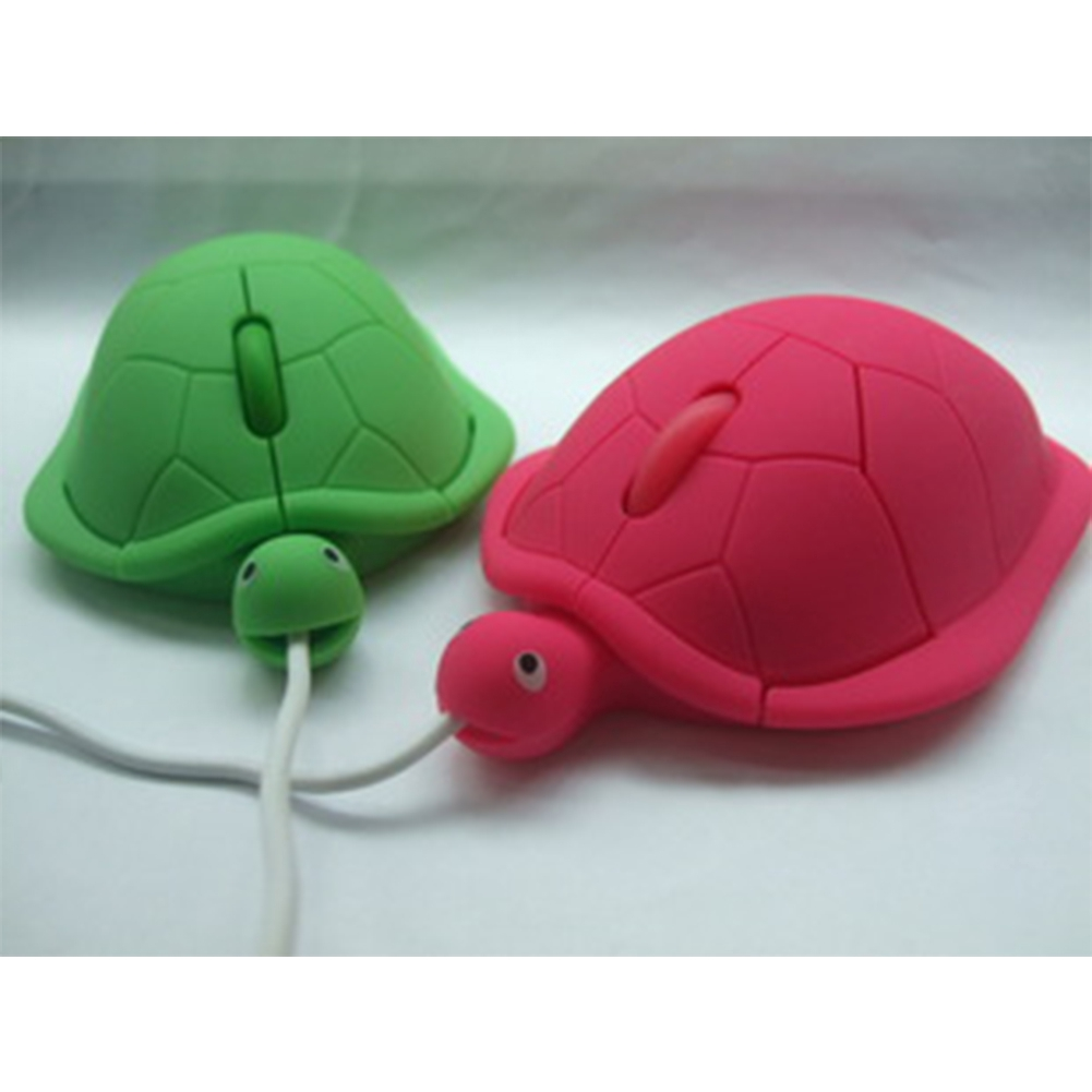 Cute Animal Wired Mouse USB 3D Turtle Optical Mice for Computer PC Mini Pro Sea Gaming