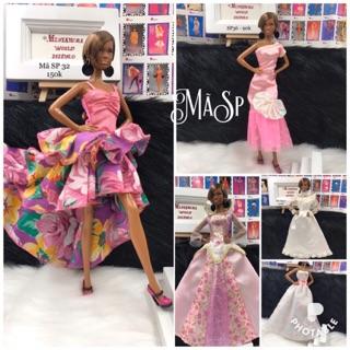Váy dạ hội cho búp bê barbie