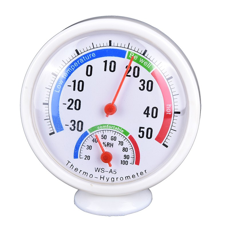 XYVN Digital Indoor Outdoor LCD Thermometer Hygrometer Temperature Humidity Me