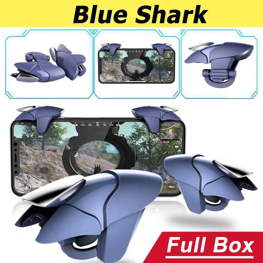 Nút bắn Pubg Blue Shark ♥️Freeship♥️ Nút bấm Pubg Phụ kiện chơi Pubg M