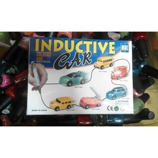 Ô tô chạy theo nét vẽ, ô tô chạy theo đường vẽ của của bút, xe chạy theo nét vẽ vô cùng độc đáo cho các bé