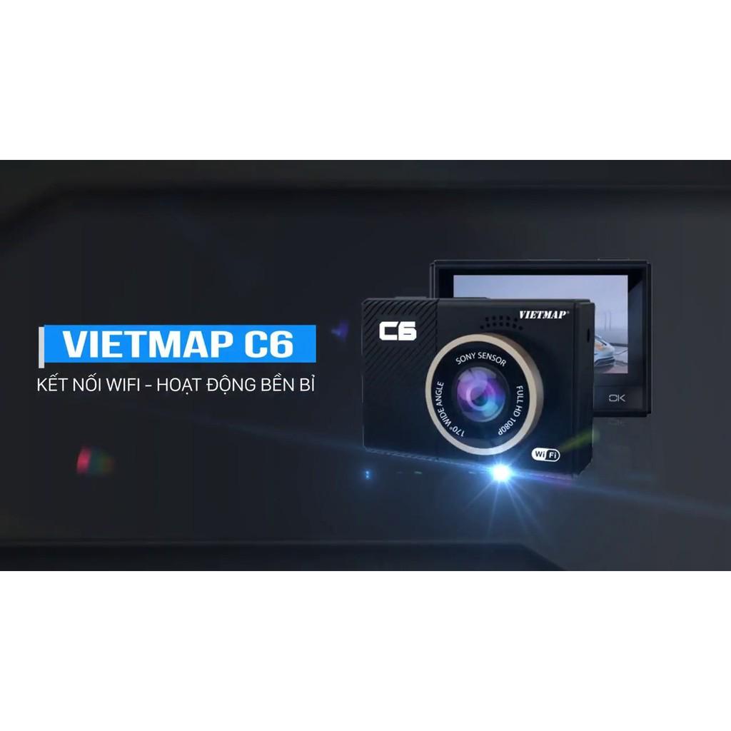 Camera hành trình Vietmap C6 | Kết nối Wifi cảm biến Sony - Bảo hành 12 tháng Vietmap chính hãng