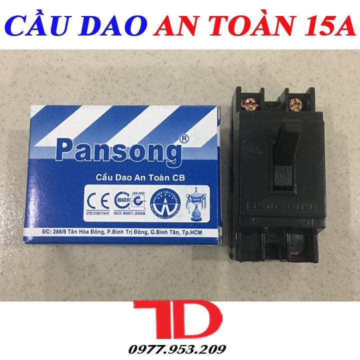 Cầu dao an toàn 15A PANSONG, CB tự động - 15458463 , 1793473578 , 322_1793473578 , 50000 , Cau-dao-an-toan-15A-PANSONG-CB-tu-dong-322_1793473578 , shopee.vn , Cầu dao an toàn 15A PANSONG, CB tự động