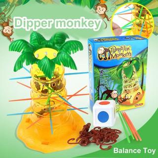 Cây đồ chơi khỉ nén tương tác vui nhộn cho bé