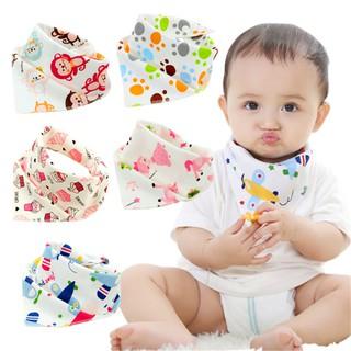 Yếm Ăn Cotton Hình Tam Giác Cho Bé thumbnail