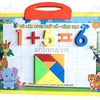 Bé làm quen với chữ số – hình học | Đồ chơi nhựa an toàn cho bé | Đồ chơi nhựa an toàn tại TP HCM |Đồ chơi nhựa giá rẻ