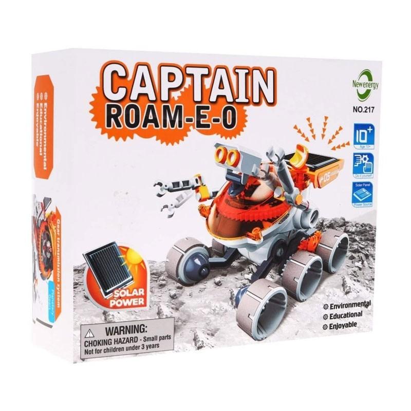 Đồ chơi giáo dục STEM - Lắp ráp Robot Đội trưởng thám hiểm Sao Hỏa chạy bằng Năng lượng mặt trời 217. Thỏa sức khám phá.