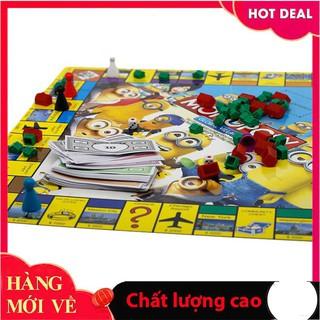 [Trợ giá] Bộ trò chơi cờ tỳ phú Monopoly Minion_Chính hãng