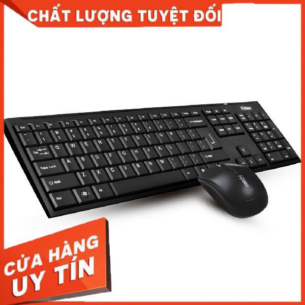 [Giá hủy diệt] Bộ bàn phím và chuột không dây Fuhlen A120G Chính hãng - BH 24 tháng [Hàng có sẵn]