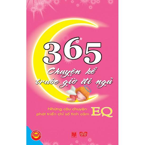 Sách Thật - 365 Chuyện Kể Trước Giờ Đi Ngủ - EQ