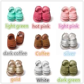Sandal bằng da PU dễ thương cho bé gái