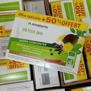 Detox-Thải độc toàn thân Akopharma 30 ống hàng nội địa Pháp