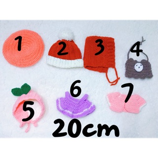 Đồ len cho doll 20cm ( CÓ SẴN)