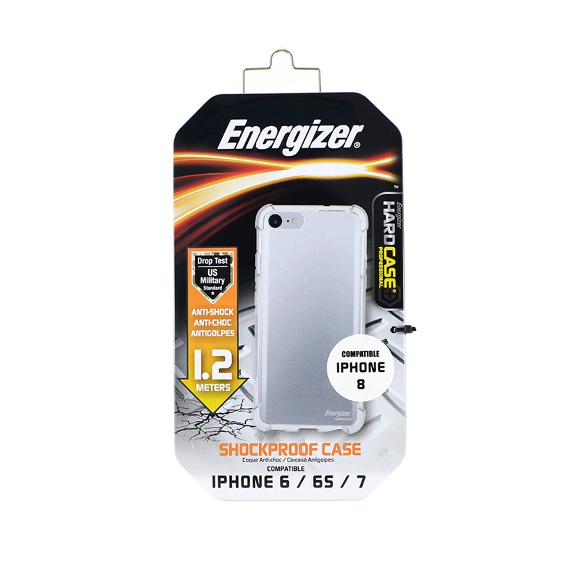 Ốp lưng trong Energizer chống sốc iPhone6/7/8 ENCMA12IP7TR