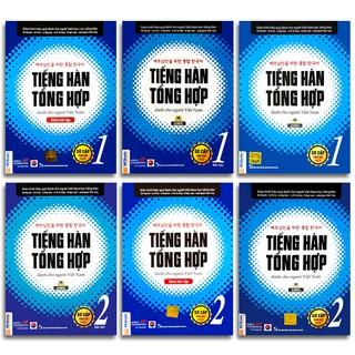 Sách - Tiếng Hàn Tổng Hợp Dành Cho Người Việt Nam - Sơ Cấp Phiên Bản Mới (6 quyển lẻ tùy chọn) thumbnail