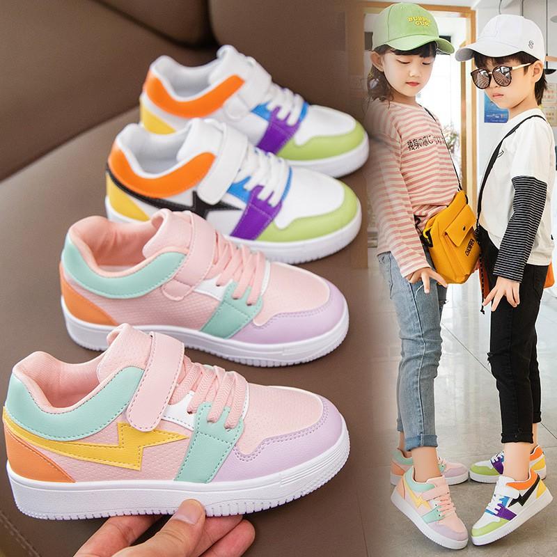 Giày thể thao bé gái bé traicao cấp từ 3 - 16 tuổi siêu nhẹ đàn hồi kháng khuẩn kiểu dáng thời trang G27
