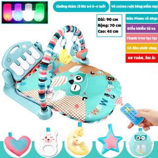 Giường thảm Piano phát nhạc Udary có điều khiển cho bé từ 0-3 tuổi – Quà tặng cho bé yêu của bạn
