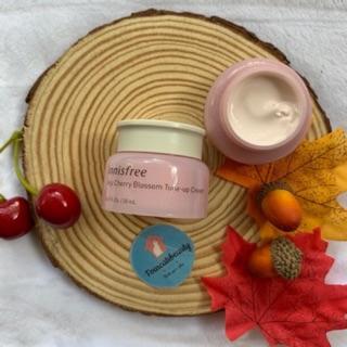 Kem Dưỡng Ẩm Trắng Da Innisfree Jeju Cherry Blossom Tone-Up Cream 20ml thumbnail