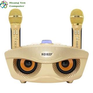[ELCESALE GIẢM 20K] [Tặng 2 Micro] Loa Karaoke Bluetooth SDRD SD306 Cực Hay – BH 6 Tháng