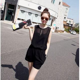 Jumpsuit giọt nước ngắn năng động Misa Fashion MS190