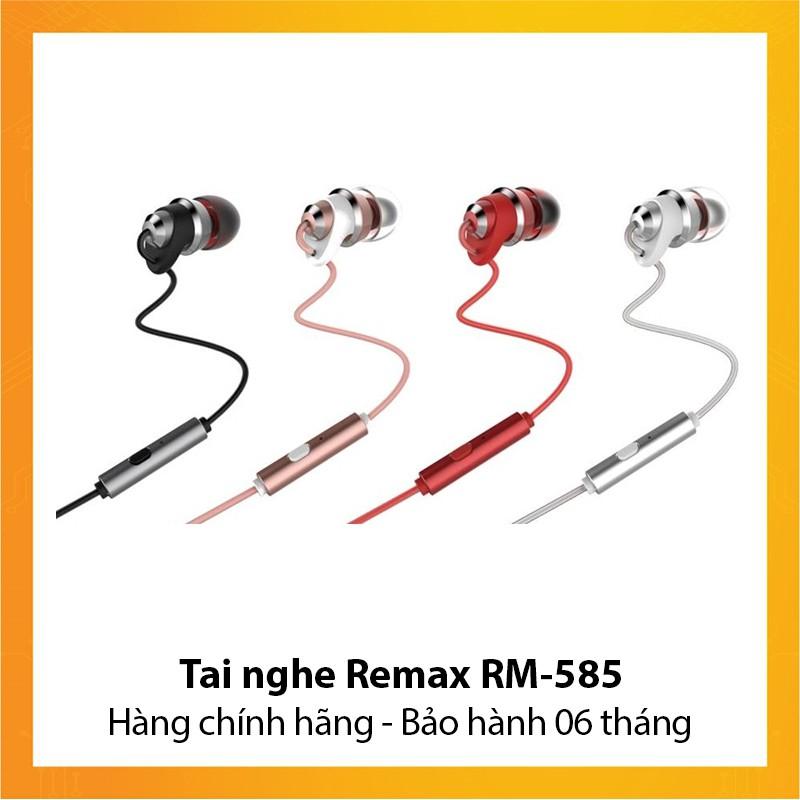 Tai nghe Remax RM-585 - Hàng chính hãng - Bảo hành 6 tháng