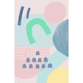 Bộ tranh sơn dầu vải Canvas 30*40cm 40*50cm hình chú voi nhiều màu sắc dành cho người mới bắt đầu