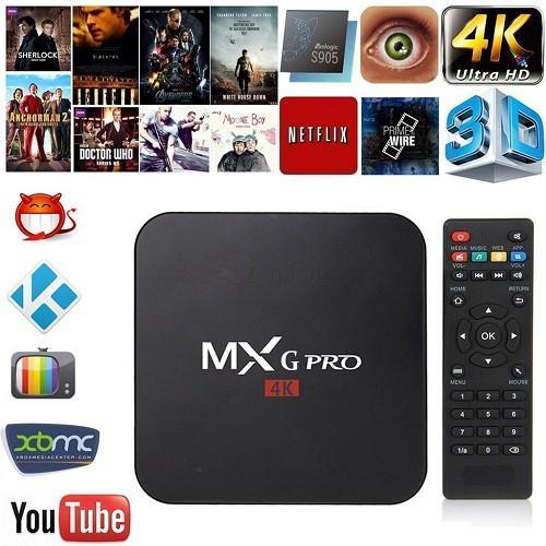 TV BOX mxg PRO
