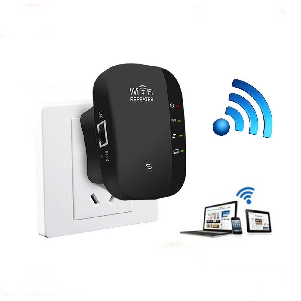 300Mbps Home Wireless Mini Signal Booster High Speed WIFI Repeater Giá chỉ 238.000₫