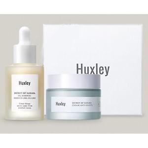 Bộ đôi chống lão hóa cực mạnh Huxley Oil Essence; Essence-Like và Anti-Gravity Cream