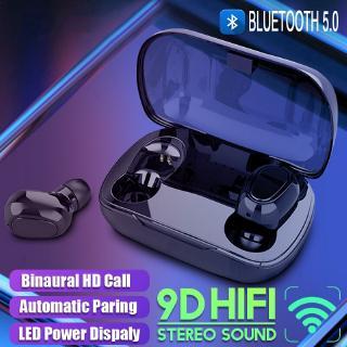 Tai nghe thể thao 2020 không dây âm thanh nổi 9D Bluetooth 5.0 chống ồn kèm micro