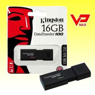 [Mã ELFLASH5 giảm 20K đơn 50K] (Chính hãng) USB Kingston DT100 G3 16GB 3.0