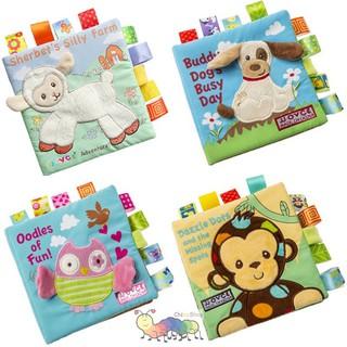 Sách vải phát triển cảm quan cho bé chủ đề động vật thumbnail