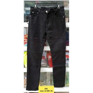 Quần bò, quần jean nam size to từ 30 đến 36. Vải co giãn 4 chiều dễ chịu khi mặc (big size)