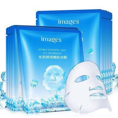 [RẺ VÔ ĐỊCH] Mặt nạ đá băng dưỡng da mụn cấp ẩm thải độc Images Hydra Smoothing Skin Ice Membrane